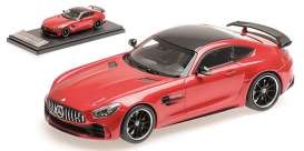 Mercedes Benz  - 2017 red - 1:43 - Almost Real - ALM420703 - ALM420703 | Tom's Modelauto's