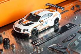 Bentley  - 2015 white - 1:43 - Almost Real - ALM430306 | Toms Modelautos