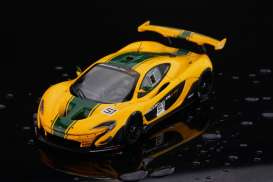 McLaren  - 2015 yellow/green - 1:18 - Almost Real - ALM840102 | Tom's Modelauto's
