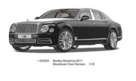 Bentley  - 2017 black - 1:18 - Almost Real - ALM830504 | Toms Modelautos