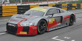 Audi  - R8 LMS 2017 grey/red - 1:43 - Minichamps - 437171722 - mc437171722 | Toms Modelautos