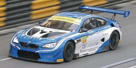 BMW  - M6 GT3 2017 blue/white - 1:43 - Minichamps - 437172691 - mc437172691 | Tom's Modelauto's