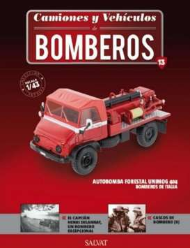 Unimog  - red - 1:43 - Magazine Models - fire13 - magfire13 | Tom's Modelauto's
