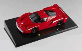 Ferrari  - 2007 red/white - 1:43 - Hotwheels Elite - mvN5584 - hwmvN5584 | Tom's Modelauto's