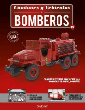 GMC  - CCKW 353 red - 1:43 - Magazine Models - fire15 - magfire15 | Toms Modelautos