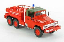 Acmat  - 6x6 red - 1:43 - Magazine Models - fire20 - magfire20 | Tom's Modelauto's