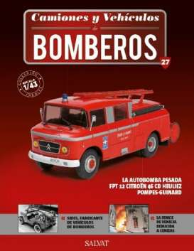 Citroen  - 46 CD Pompes-Guinard red - 1:43 - Magazine Models - magfire27 | Tom's Modelauto's