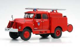 Citroen  - 46 CD 1961 red - 1:43 - Magazine Models - fire29 - magfire29 | Tom's Modelauto's