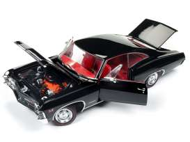 Chevrolet  - 1967 black - 1:18 - Auto World - AMM1129 | Tom's Modelauto's