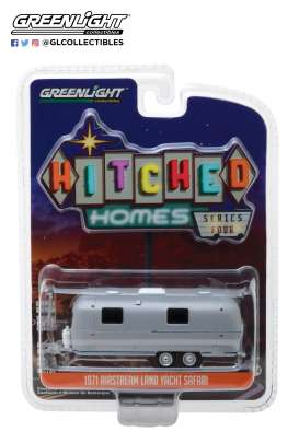 Airstream  - Double-Axle Trailer 1971  - 1:64 - GreenLight - 34040B - gl34040B | Tom's Modelauto's