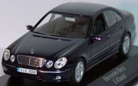 Mercedes Benz  - 2002 tanzanit blue - 1:43 - Minichamps - 400031501 - mc400031501 | Tom's Modelauto's