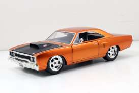 Plymouth  - 1970 copper - 1:24 - Jada Toys - jada97126 | Tom's Modelauto's