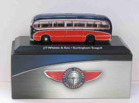 Burlingham  - Seagull blue/red - 1:72 - Magazine Models - magBUS4642101 | Tom's Modelauto's