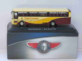 Van Hool  - yellow/brown - 1:72 - Magazine Models - magBUS4642112 | Tom's Modelauto's