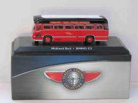 BMMO  - C5 red/black - 1:72 - Magazine Models - magBUS4642114 | Tom's Modelauto's