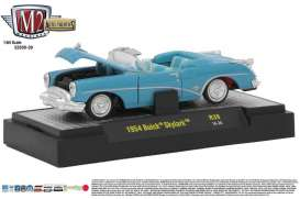 Buick  - Skylark 1954 blue - 1:64 - M2 Machines - M2-32500-39B | Tom's Modelauto's