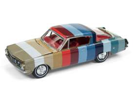 Plymouth  - Barracuda 1964 various - 1:64 - Auto World - AWSP001A | Tom's Modelauto's