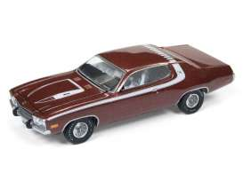 Plymouth  - Roadrunner 1974 red poly/white - 1:64 - Auto World - SP002B - AWSP002B | Toms Modelautos