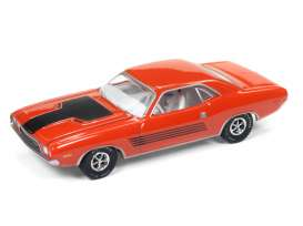 Dodge  - Challenger Rallye 1972 hemi orange - 1:64 - Auto World - AWSP003B | Tom's Modelauto's