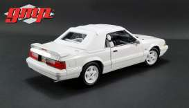 Ford  - Mustang LX Convertible 1993 white - 1:18 - GMP - gmp18824 | Tom's Modelauto's