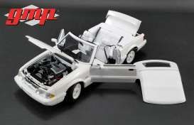 Ford  - Mustang LX Convertible 1993 white - 1:18 - GMP - 18824 - gmp18824 | Tom's Modelauto's