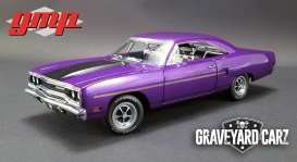 Plymouth  - Road Runner 1970 purple - 1:18 - GMP - gmp18897 | Tom's Modelauto's