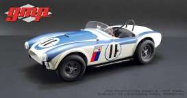 Shelby  - Cobra 289 Competition CSX2011 1963 white/blue - 1:12 - GMP - 12803 - gmp12803 | Tom's Modelauto's