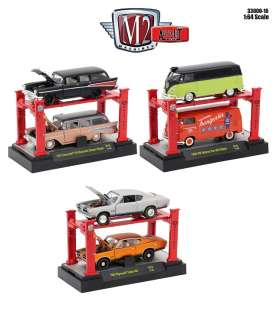 Assortment/ Mix  - various - 1:64 - M2 Machines - m2-33000-16 | Tom's Modelauto's