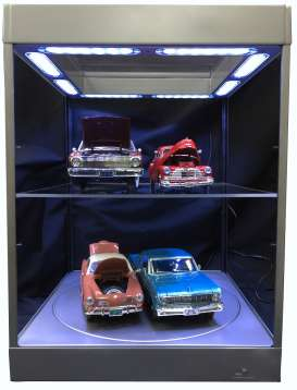Accessoires diorama - 2018 silver - Triple9 Collection - 69929s - T9-69929s | Tom's Modelauto's