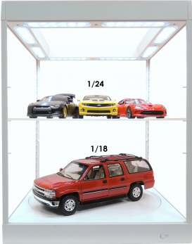 Accessoires diorama - 2018 white - Triple9 Collection - T9-69929w | Tom's Modelauto's