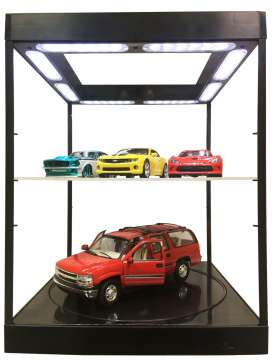 Accessoires diorama - 2018 black - Triple9 Collection - T9-69929bk | Tom's Modelauto's