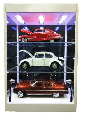 Accessoires diorama - 2017 transparant/white - Triple9 Collection - T9-69927w | Tom's Modelauto's