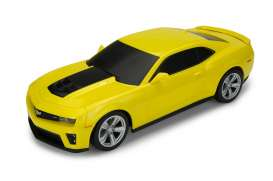 Chevrolet  - 2015 yellow - 1:24 - Welly - 84017y - welly84017y | Tom's Modelauto's