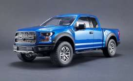 Ford  - Raptor pick-up 2017 lightning blue - 1:18 - GT Spirit - GTUS009 | Tom's Modelauto's