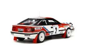 Toyota  - Celica ST165 #2 1991 red/white - 1:18 - OttOmobile Miniatures - otto239 | Tom's Modelauto's