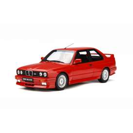 BMW  - E30 M3 red - 1:18 - OttOmobile Miniatures - otto695 | Tom's Modelauto's