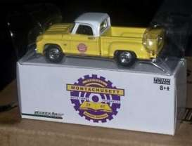 Dodge  - D-100 pick-up yellow/white - 1:64 - GreenLight - D-100 - glD-100 | Tom's Modelauto's