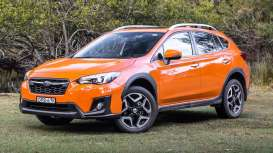 Subaru  - XV 2014 sunshine orange - 1:43 - Vitesse SunStar - 50031 - vss50031 | Tom's Modelauto's