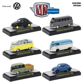 Volkswagen  - various - 1:64 - M2 Machines - M2-32500VW5 | Tom's Modelauto's