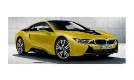 BMW  - i8 2017 speed yellow - 1:18 - Paragon - para97087 | Tom's Modelauto's