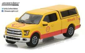 Ford  - 2016 red/yellow - 1:64 - GreenLight - gl41030E | Tom's Modelauto's