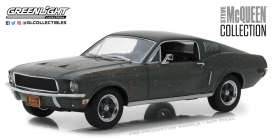 Ford  - Mustang GT fastback 1968 green - 1:24 - GreenLight - 84043 - gl84043 | Tom's Modelauto's