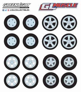 Wheels & tires Rims & tires - 2018  - 1:64 - GreenLight - gl13164 | Tom's Modelauto's