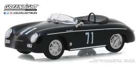 Porsche  - 356 Speedster Super 1958 black - 1:43 - GreenLight - 86538 - gl86538 | Toms Modelautos