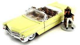 Cadillac  - Series 62 *Scarface* 1963 yellow - 1:24 - Jada Toys - 99734 - jada99734 | Tom's Modelauto's