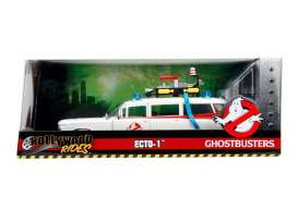 Cadillac  - Ecto-1 Ghostbusters 1959 white/red - 1:24 - Jada Toys - jada99731 | Tom's Modelauto's