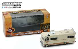 Winnebago  - Chieftain *Walking Dead* 1973 creme - 1:43 - GreenLight - 86543 - gl86543 | Tom's Modelauto's