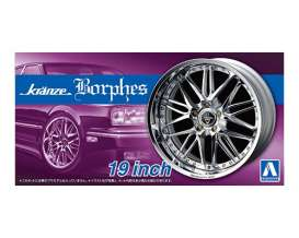 Rims & tires Wheels & tires - 1:24 - Aoshima - abk155281 | Tom's Modelauto's