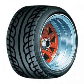 Wheels & tires Rims & tires - 1:24 - Aoshima - abk155458 | Tom's Modelauto's