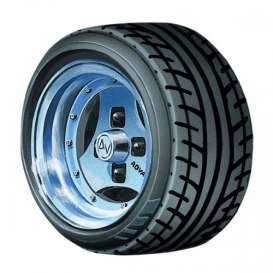 Wheels & tires Rims & tires - 1:24 - Aoshima - abk155465 | Tom's Modelauto's